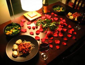 romantic dinner gift